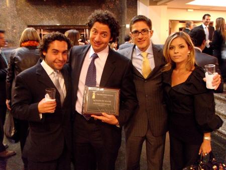 Zemoga's Carlos Pardo, Alejandro Gomez, Federico Ortega and Natalia Cardona