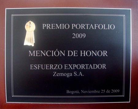 The Portafolio Award