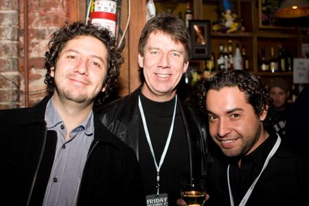 Alejandro Gomez, Russ Ward and Carlos Pardo of Zemoga