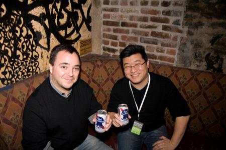 Brian David-Marshall and Matt Wang of TBC