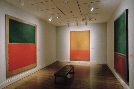 Rothko Room The REAL Reason We Bleed Zemoga Green: Corporate Identity and Color