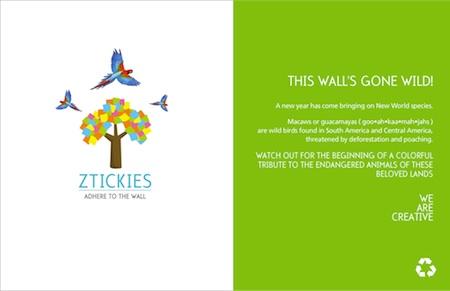21 Ztickies Challenge: Macaw!