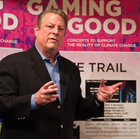 Al Gore at PSFK Gaming For Good Event-60