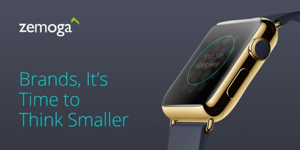 Zemoga poked fun at the Apple Watch hype with iSquint.